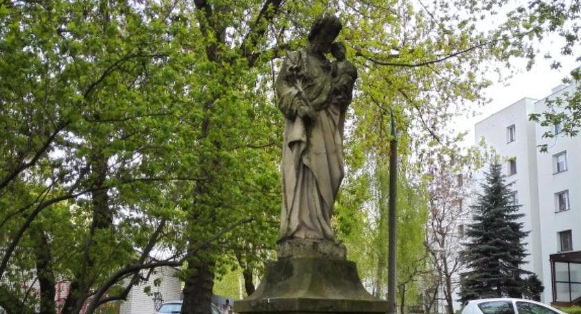 historia, Figura Józefa czeka renowację - zdjęcie, fotografia